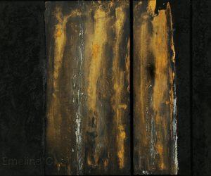 Tears of Gold - 100 x 60 cm